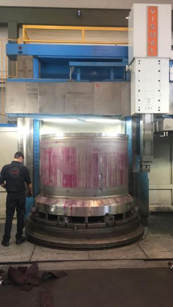 Cestello centrifuga in hastelloy