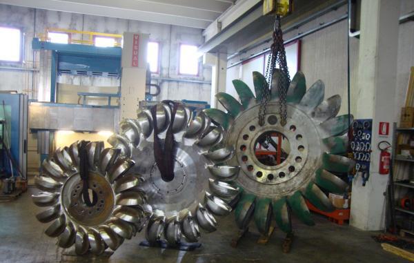 Pelton rotors